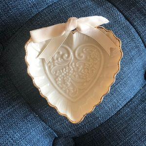 Lenox Heart Jewelry Dish